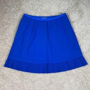 Ibkul royal blue pleated skirt sz sm